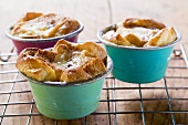Individual bread puddings