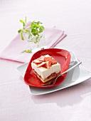 Erdbeer-Tiramisu-Schnitte