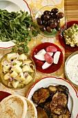 Mediterranean appetisers
