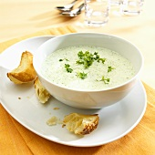 Cress soup