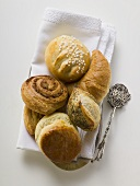 Sweet pastries to serve with coffee