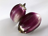 Two Thai aubergines