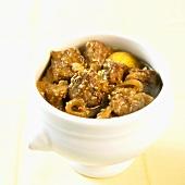 Pfefferpotthast (Westphalian beef and onion stew)