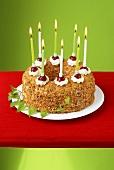 Frankfurt wreath (Wreath-shaped cake from Frankfurt) for birthday