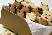 Reindeer & bears in gingerbread & sweet shortcrust pastry