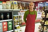 Supermarket sales assistant