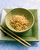 Boiled plain brown rice