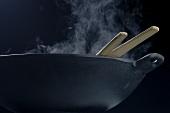 Steaming wok