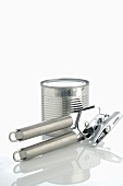 Tin and tin opener