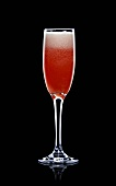 American Glory (Sparkling wine, grenadine, orange juice)