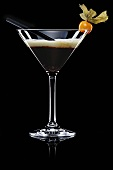 White Russian (Drink made with coffee liqueur, vodka & cream)