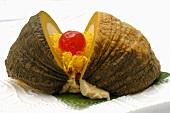 Pumpkin with coconut cream (Thailand)