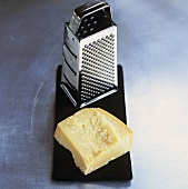 Parmesan with grater