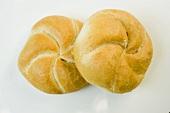 Two Kaiser rolls