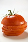 Tomato, sliced (in a pile)