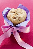 Cranberry biscuits to give as a gift