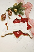 Gingerbread reindeer for Christmas