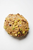 Italian almond biscuit with pistachios