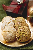 Assorted Italian almond biscuits (Christmas)