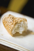 Piece of sesame roll