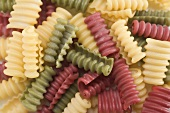 Coloured riccioli (full-frame)