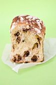 Pane dolce (sweet Italian bread) with chocolate chips