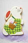Easter biscuit (Easter Bunny) on sugar