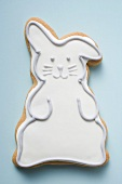Easter biscuit (white Easter Bunny)