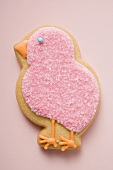 Easter biscuit (pink chick)