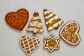 Assorted Lebkuchen for Christmas