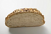 Slice of oat bread