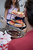 Cake buffet for the 4th of July (USA)