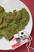 Herb escalope with football whistle (Austria)