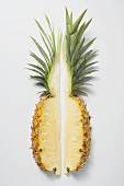 Two wedges of pineapple