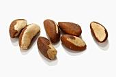 Several Brazil nuts