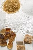 Various types of sugar (detail)