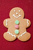 Decorated gingerbread man