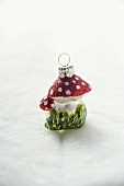 Christmas tree ornament (fly agaric toadstool)