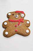 Gingerbread teddy bear