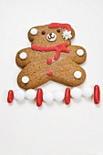 Christmas biscuit (teddy bear) and sweets