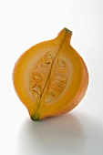 Orange pumpkin (Hokkaido), a piece removed