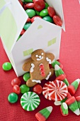 Gingerbread man and Christmas sweets