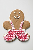 Gingerbread man, decorated