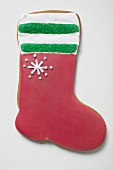 Christmas biscuit (red boot)