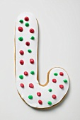 Christmas biscuit (candy cane)