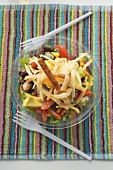 Mexican salad to take away