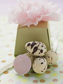 Chocolate Easter eggs to give as a gift