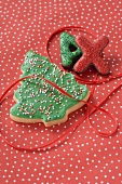 Christmas biscuits (Christmas tree and letters)