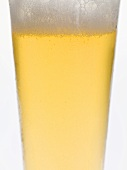 Glass of lager (detail)