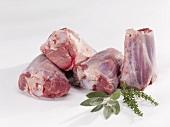 Fresh lamb shanks
